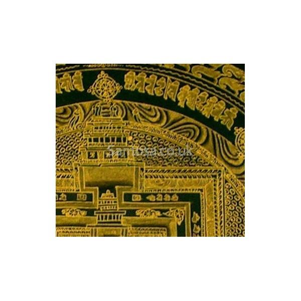 Kalachakra Mandala - Plain Gold