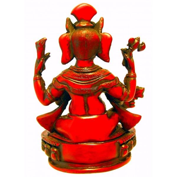 Ganesh Statue Resin 23cm