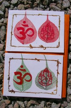 OM Symbol and Ganesh Cards
