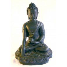 Shakyamuni Buddha Statue Clay 18cm