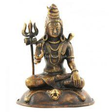 Lord Shiva Statue Bronze 21cm