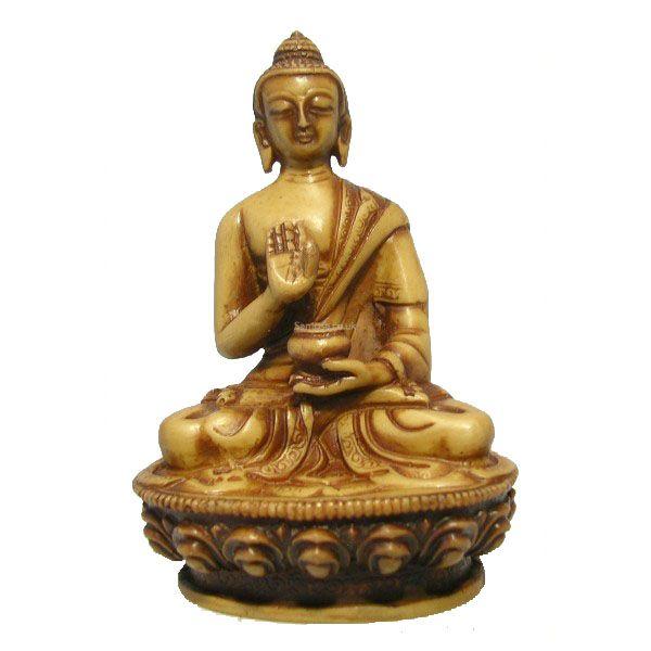 Amoghshiddhi Buddha Statue Resin 11cm