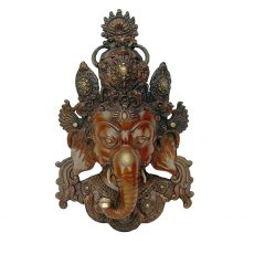 Ganesh LWM Wall Mask Bronze