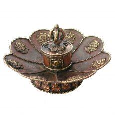 Tibetan Incense Burner - Auspicious Symbols