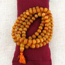 Amber Mala Beads