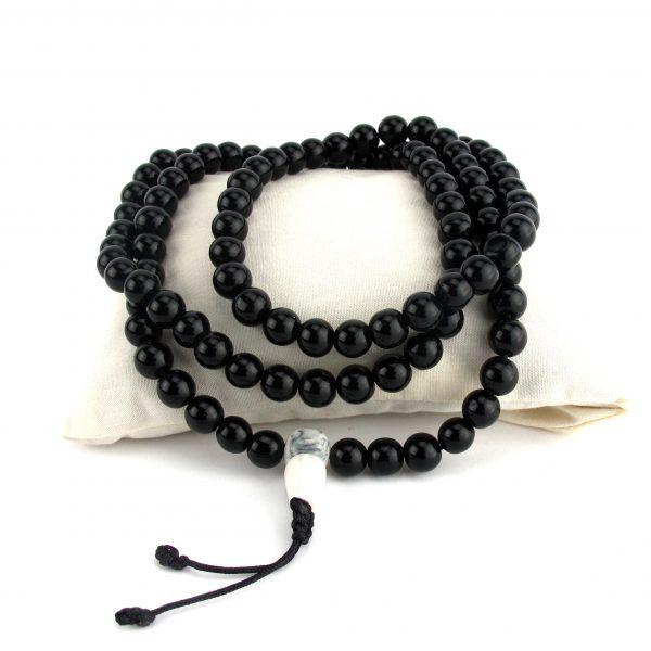 Black Onyx Mala Bead