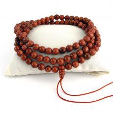 Goldstone Mala Beads