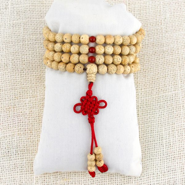 Lotus Seed Mala Beads (Stretch)