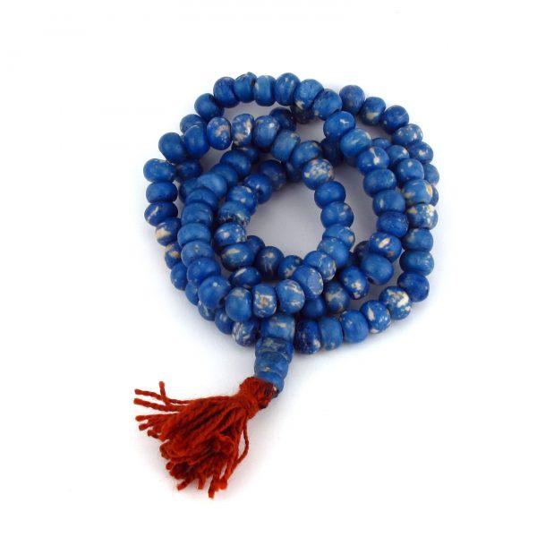 Sodalite Buddhist Mala Bead