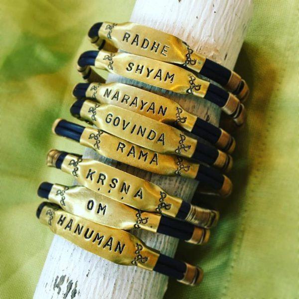 Tulasi Maharani Bracelet (Brass)