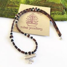 Tulasi Maharani Shankara Silver Necklace