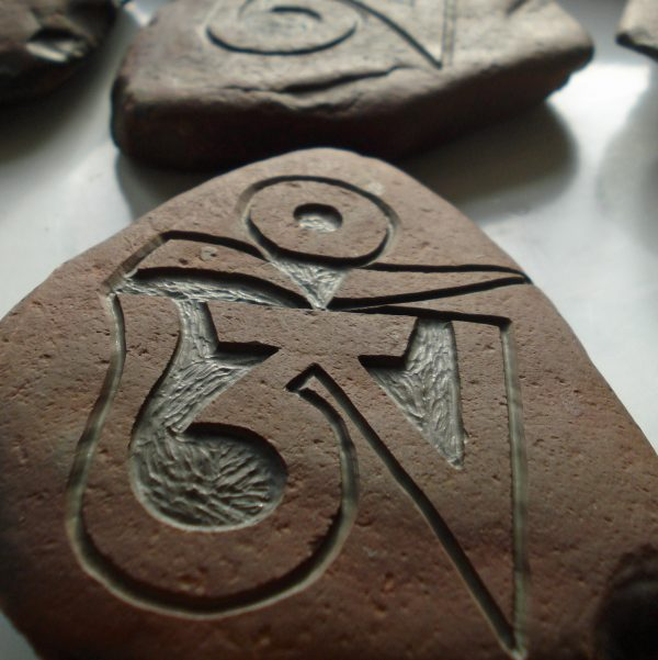 Handcarved OM Stone