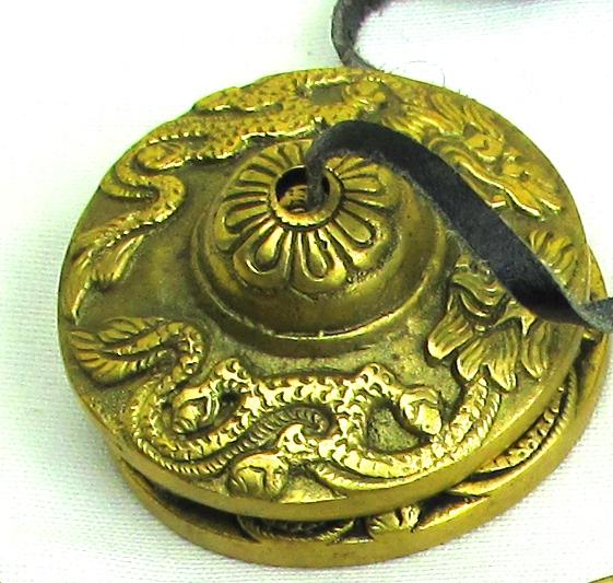 Tingsha Bells Tibetan Dragon Size 4
