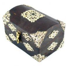 Tibetan Wooden Box Small