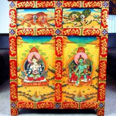 Tibetan Two Door Cabinet