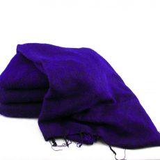 Himalayan 'Yak Wool' Shawl - Purple