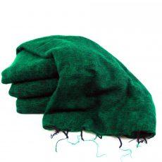 Himalayan 'Yak Wool' Shawl - Peacock Green