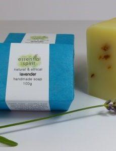 Essential Spirit Lavender Handmade Soap 100g