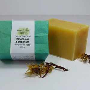 Essential Spirit Lemongrass Irish Moss Soap 100g