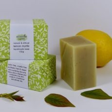 Essential Spirit  Lemon Myrtle Handmade Soap 100g