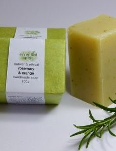 Essential Spirit Rosemary Orange Handmade Soap 100g